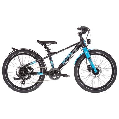 "Vélo de Ville S'COOL XXLITE EVO DISC Alu 7V 20"" Noir/Bleu 2021"
